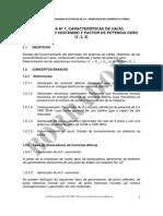 Práctica Nº 1 Características de Vacío, Cortocircuito Sostenido y Factor de Potencia Cero