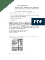Ejercicio Propuestos de Aplancamiento