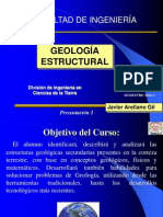 Geología Estructural I
