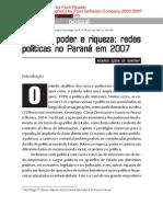 Famílias, Poder e Riqueza No Paraná