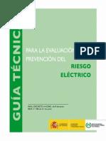 Evaluacion y Riesgo ELECTRICO