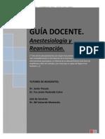 Guia Anestesia y Reanimacion 2014