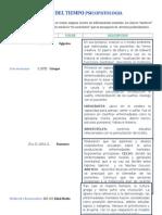 Linea Del Tiempo Psicopatologia Docx