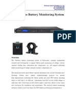 Batt Monitoring System(Wireless)