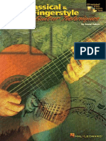 Classical & Fingerstyle Guitar Techniques by David Oakes