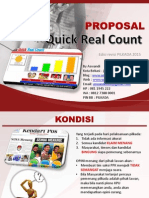 Polmantic Proposal Quick Real Count Pilkada 2015