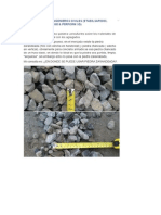 Piedra Zarandeada