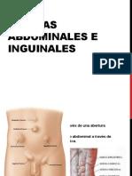 Hernias Abdominales e Inguinales