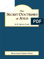The Secret Doctrines of Jesus - H. Spencer Lewis
