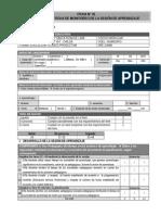 Ficha de Monitoreo CETPROS