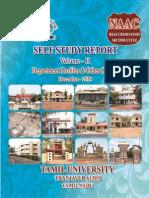 SSR Tamil University VOLUME II