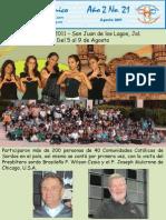 Boletin Agosto 2011 Noticias parroquiales San MArcos