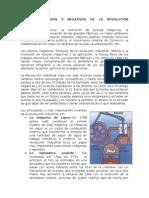 Efectos Positivos y Negativos de La Revolución Industrial