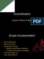 Diversification Case Study of Wipro Bajaj