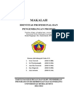 54437834 MAKALAH Identitas Profesional Dan an Profesi (1)