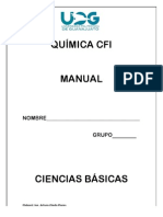 Manual Química CFI
