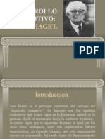 Desarrollo Cognitivo - Jean Piaget