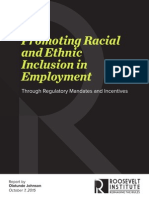 Promoting Racial and Ethnic Inclusion in Employment