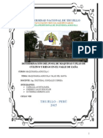 POOL DE MAQUINAS Y CALENDARIO DE CULTIVO VALLE ZAÑA - LAMBAYEQUE 2015