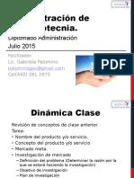 Administración Del Portafolio de Productos 2015