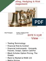 Trading Hedging Risk Management