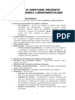 Semne Si Simptome in Cardiologie - Copy