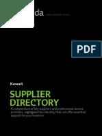 KWT 5e Supplier Directory