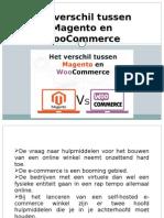 Het verschil tussen Magento en WooCommerce