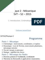 Cours Complet Mécanique SVT