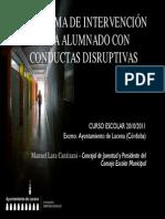 Disrupt i Vas 2010