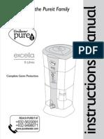 Pureit Excella U-Manual Philippines PhII-V04