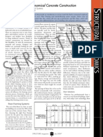 Current Trends in Economical Reinforced Concrete Construction Part-1