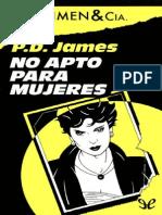 No Apto Para Mujeres - P. D. James