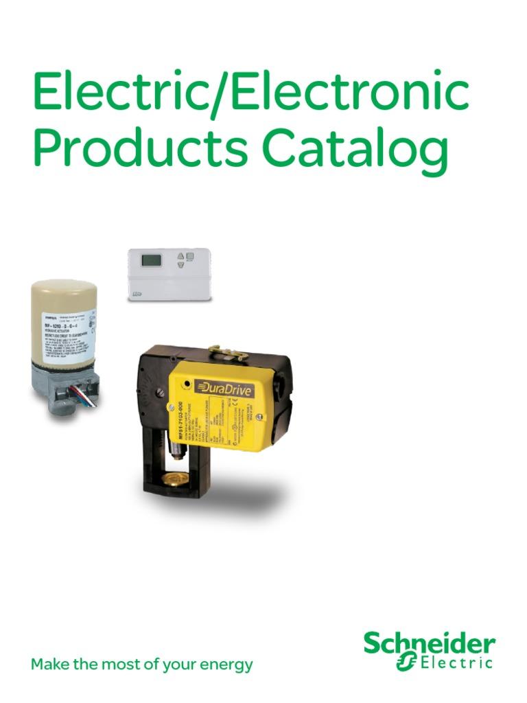 Electric Electronic Katalogpdf Thermostat Actuator Master Flow H1 Humidistat Wiring Diagram