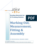 IC Workshop Materials 09 - Marking Out, Measurement, Fitting & Assembly