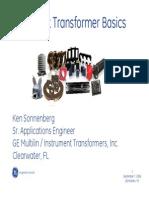 Instrument Transformer Basics-GE