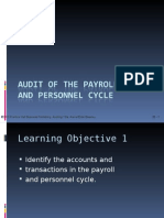 Audit of Payroll & Personnel Cycle