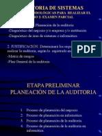 Auditoria de Sistemas- Clase 4-5- Planeacion- Muy Importante