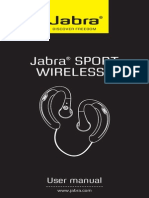 Jabra Sport User Manual