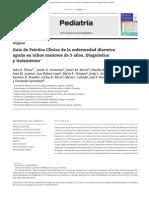 Diarrea Gpc Pediatria 2015