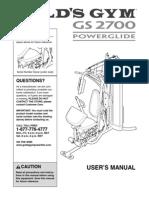 GS 2700 Powerglide