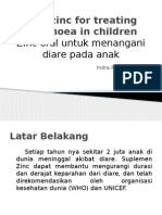 Oral zinc for treating diarrhoea in children.pptx