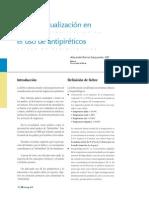 3. Fiebre, Actualización en El Uso de Antipiréticos. Imprimir