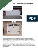 The Mishaps Of Owning A Garage Doorways Sacramento