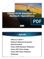 Cisco DCN Solution for Network Operations