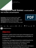 ABREU, Paula; GUERRA, Paula, SILVA, Augusto Santos; MOREIRA, Tânia; OLIVEIRA, Ana (2015) - Portuguese punk scenes