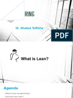 IE-lean manufacturing