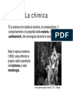 Introduzione Chimica