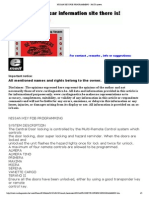 Nissan Key Fob Programming - Nats System