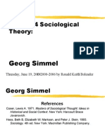Georg-Simmel by ronald keith bolender